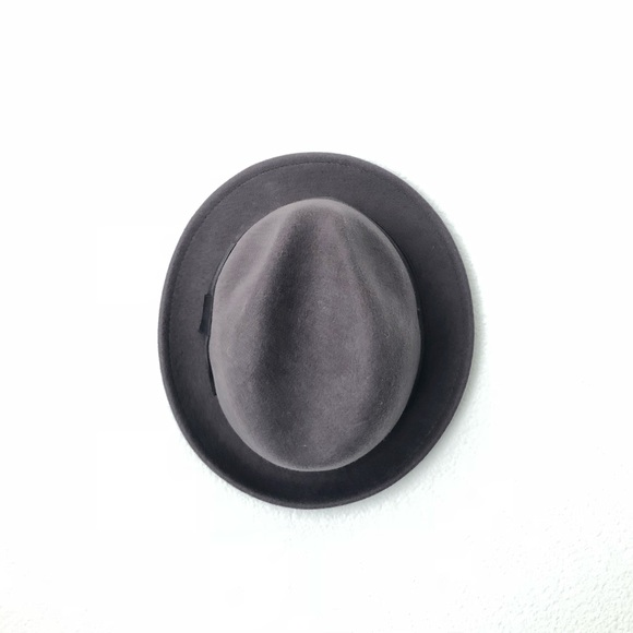 d4a8f0d0217 H M Accessories - H M Grey hipster Small Brim Fedora Unisex